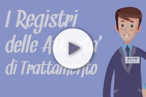 RGPD Manager – Registro delle attività di trattamento