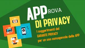 garante privacy suggerimenti